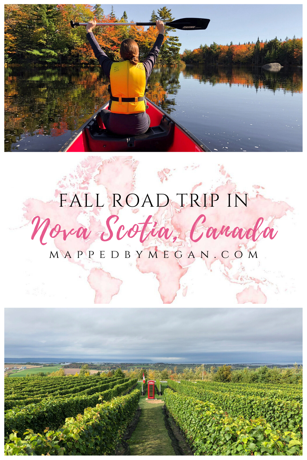 Nova Scotia is the perfect romantic, fall road trip destination. Read our one week Nova Scotia road trip itinerary filled with food, wine, and fall foliage.