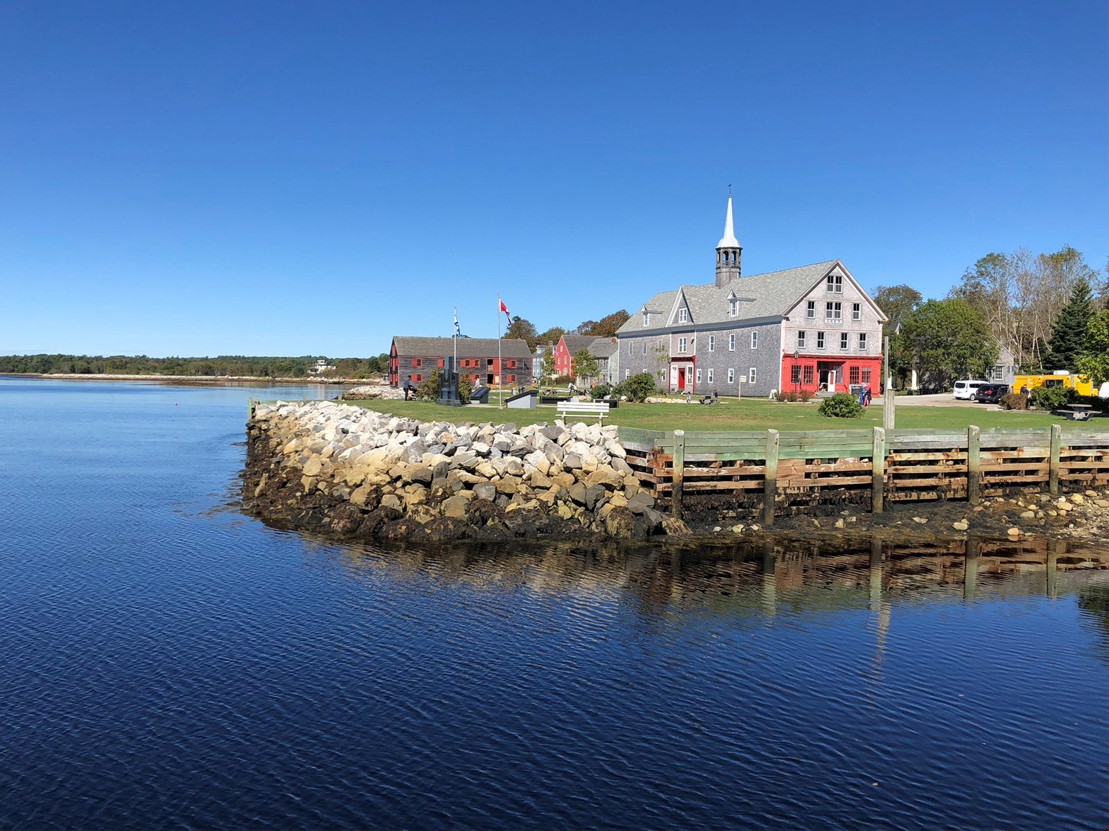 the small coastal town of Shelburne in Nova Scotia