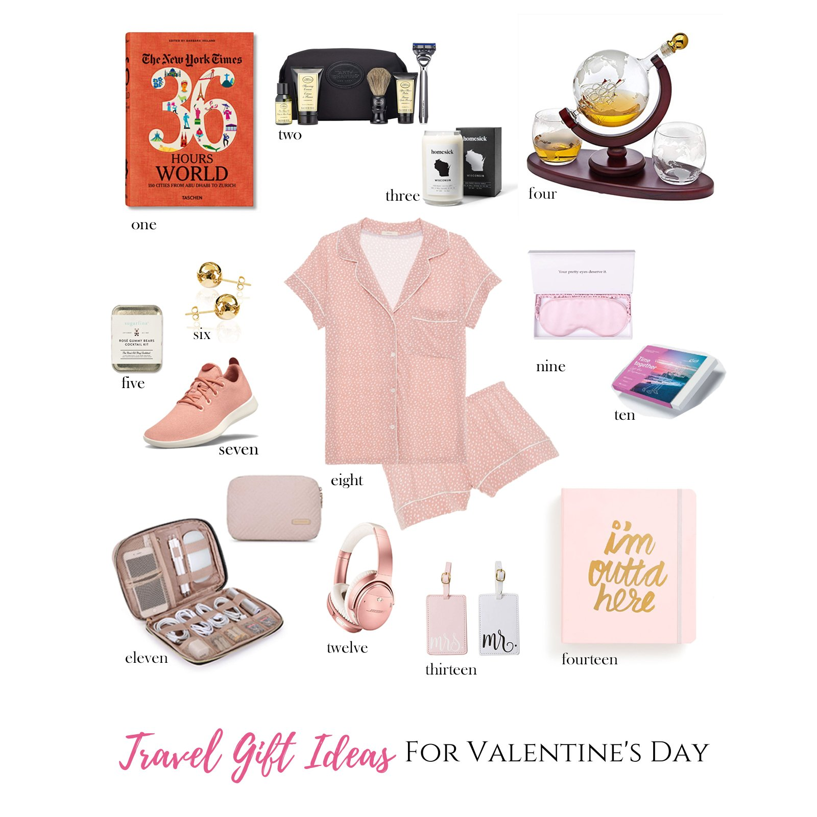 Looking for travel-themed gift ideas for the globetrotter who has your heart this Valentine's Day? I've got you covered with my Valentine's Day Gift Guide for Travelers, a curated list of the most romantic travel gift ideas for adventurous souls.