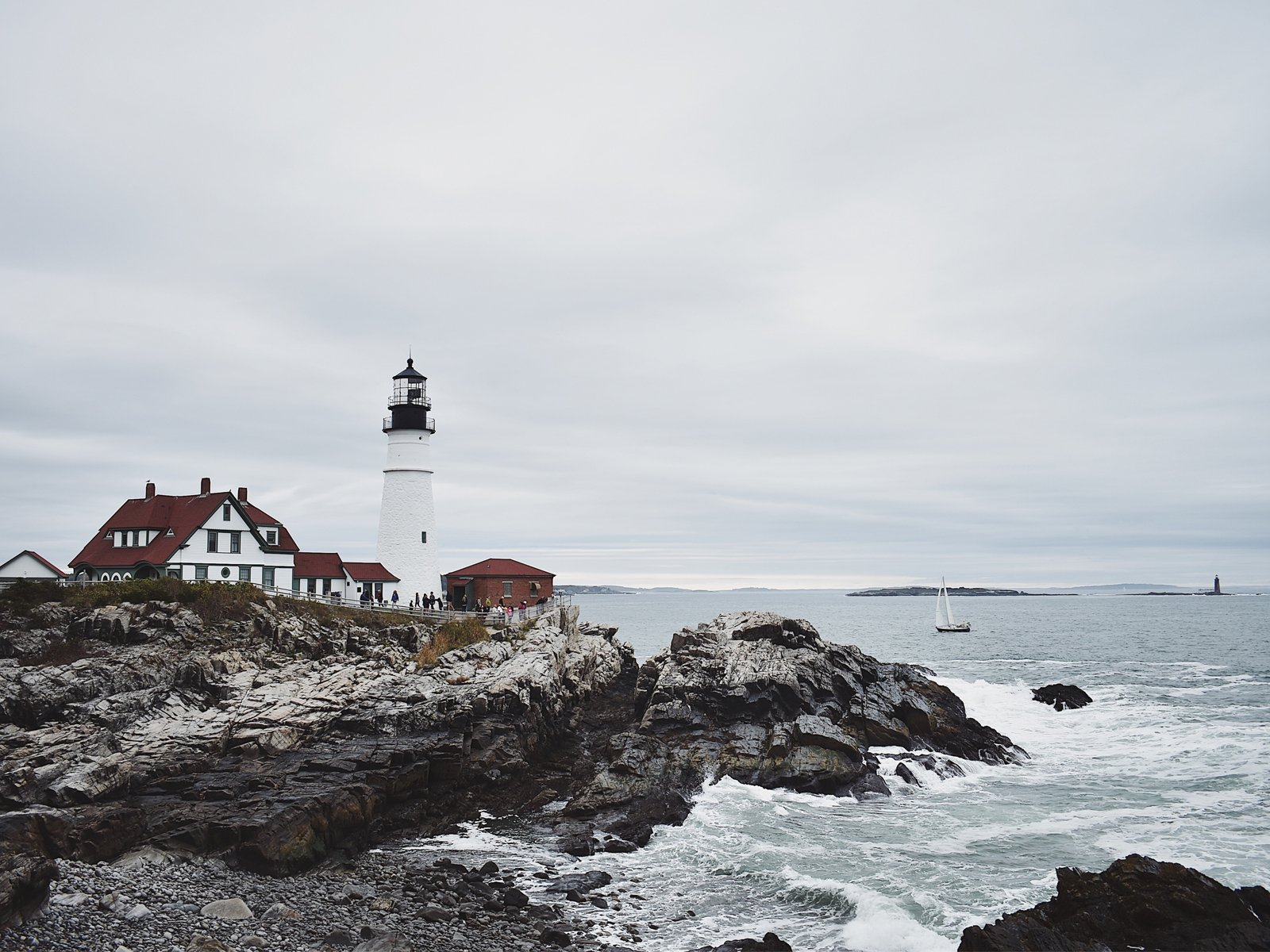 Portland Head Lighthouse near Cape Elizabeth, Maine