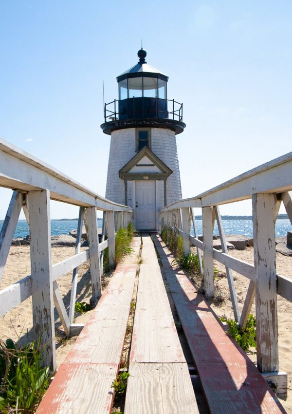 Brant Point Lighthouse in Nantucket, Massachusetts