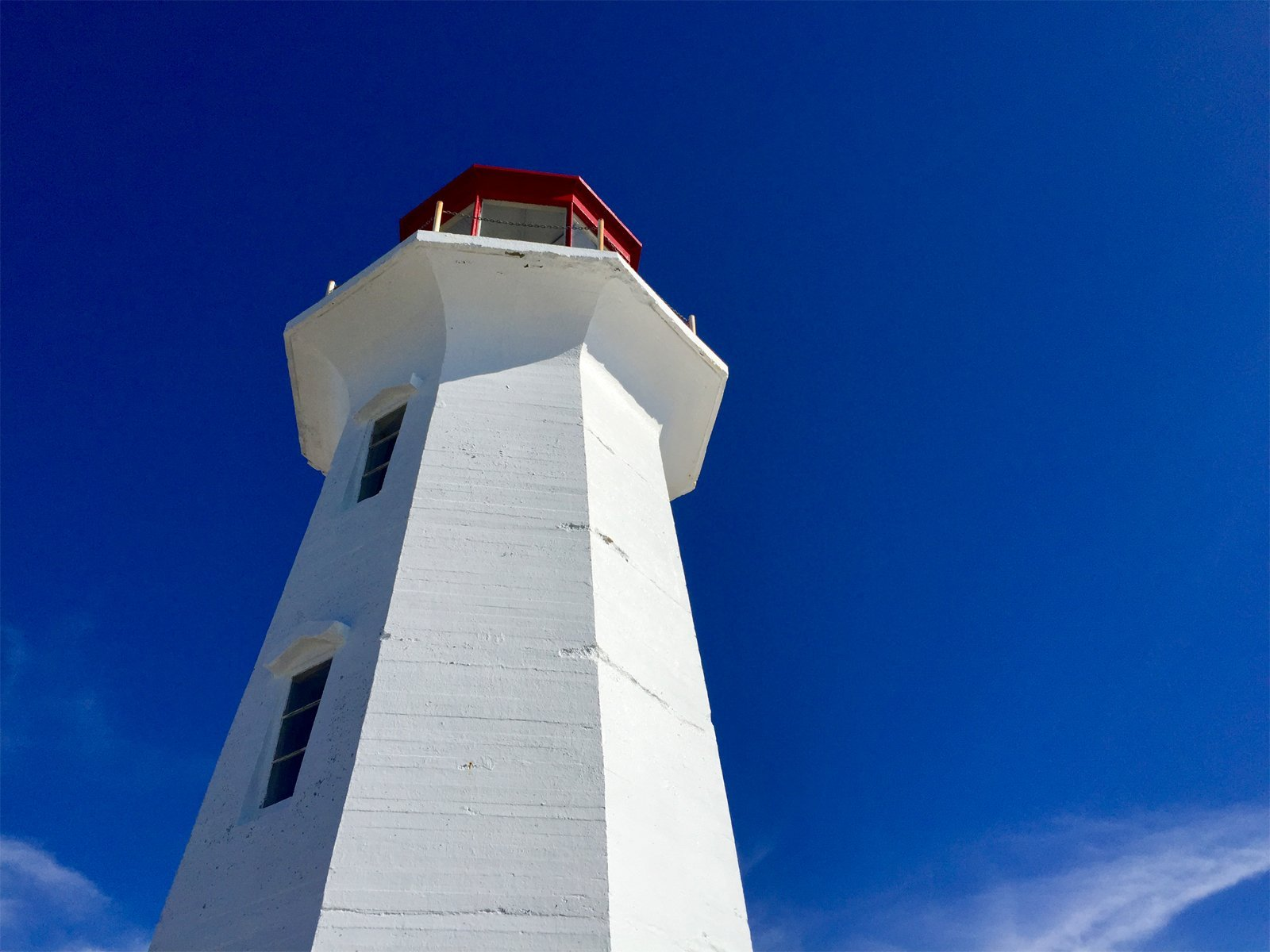 Peggy's Point Lighthouse near Halifax, Nova Scotia, Canada