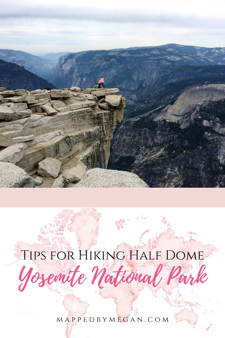 Get my top tips for hiking Half Dome in Yosemite National park. Here's everything you need to know, from how to prepare to how to climb the Half Dome cables