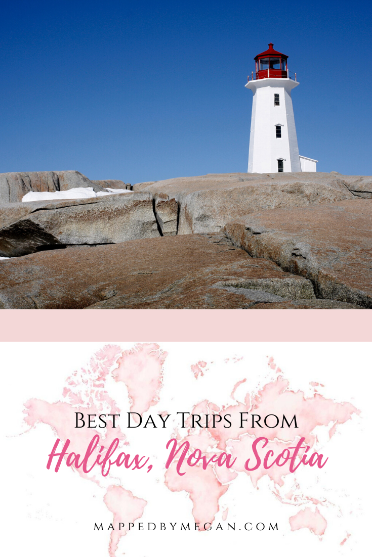 Discover the best day trips from Halifax, Nova Scotia. Within a two hour drive from Halifax, explore these day trip destinations on a trip to Nova Scotia, Canada.