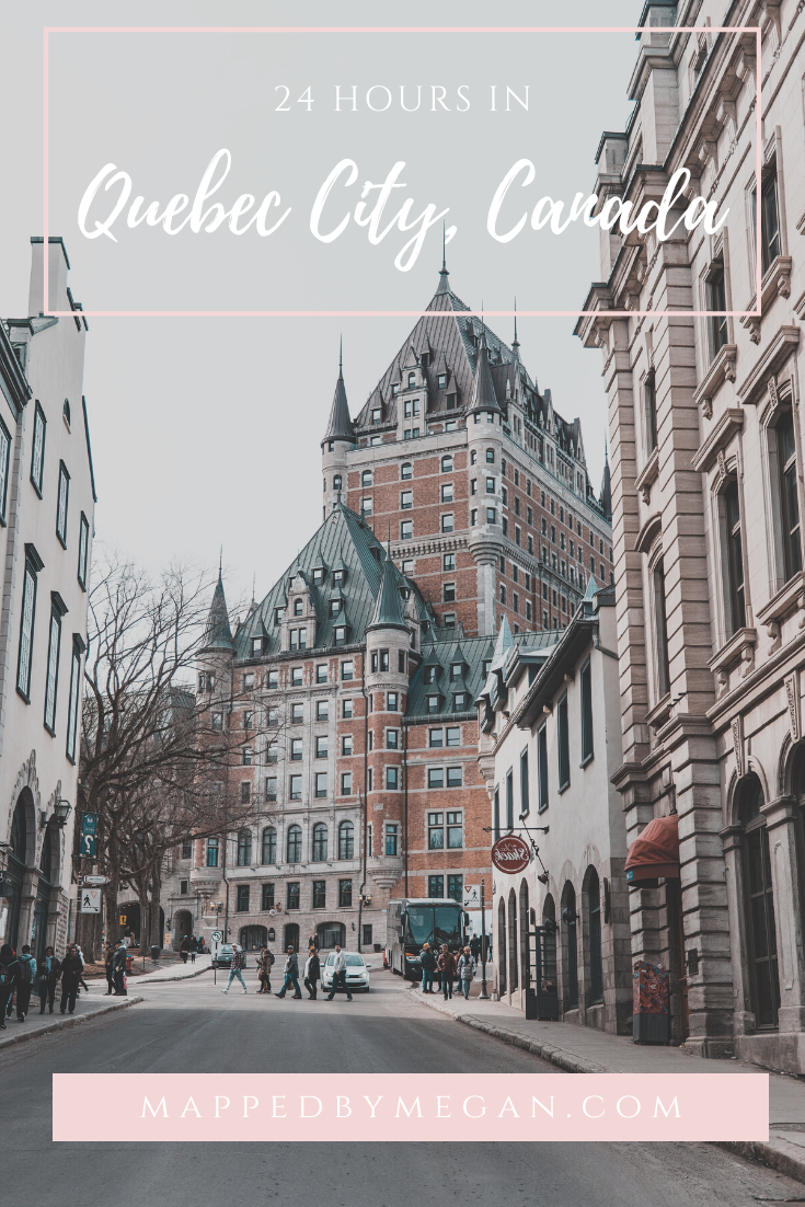 Only have 24 hours Quebec City, Canada? Discover the best things to do, places to see, and restaurants to try in this one day trip itinerary to Quebec City.