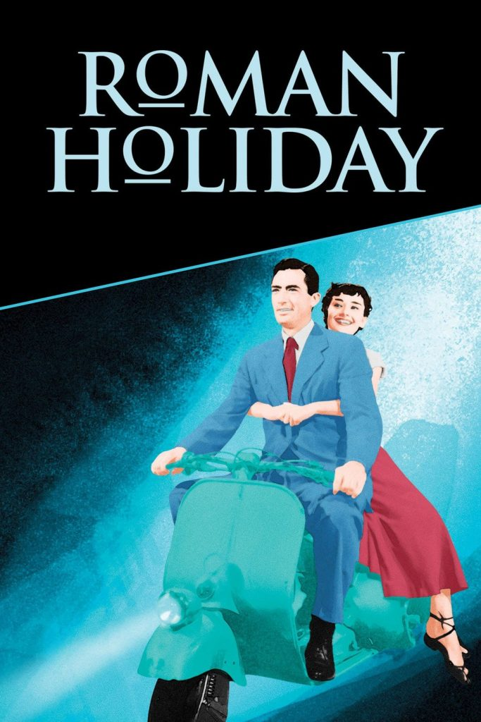 Best travel movies - Roman Holiday starring Audrey Hepburn