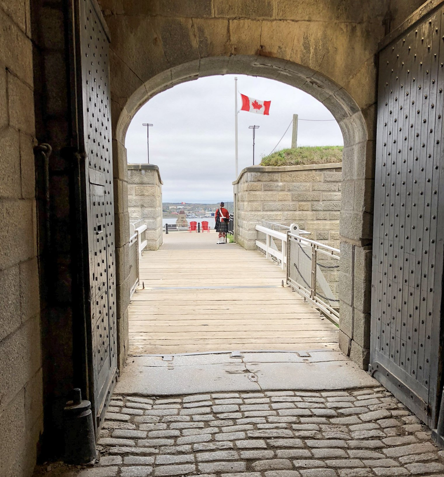 the Halifax Citadel in Nova Scotia