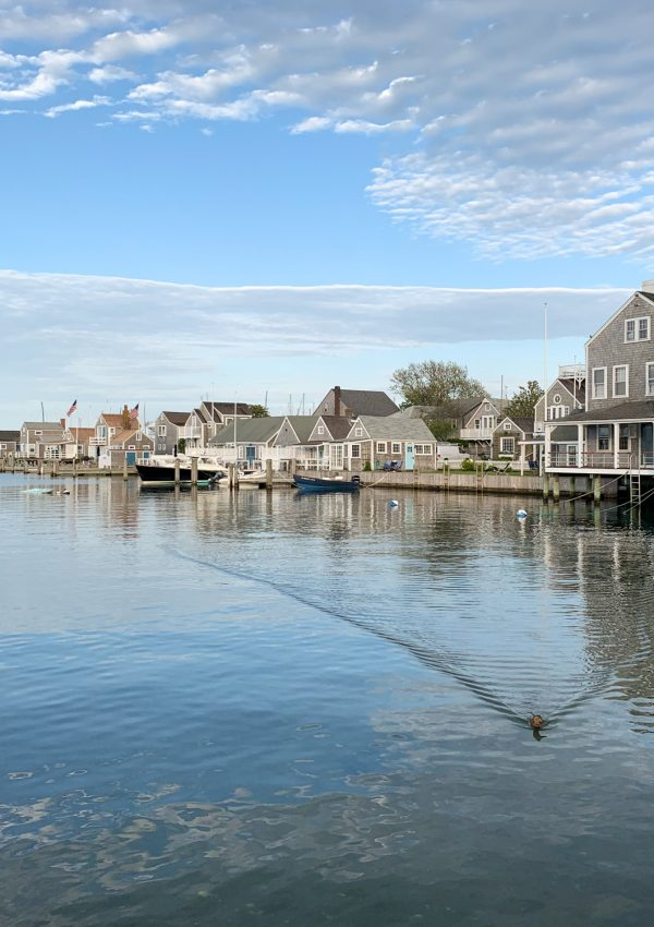 boat basin in Nantucket Harbor
