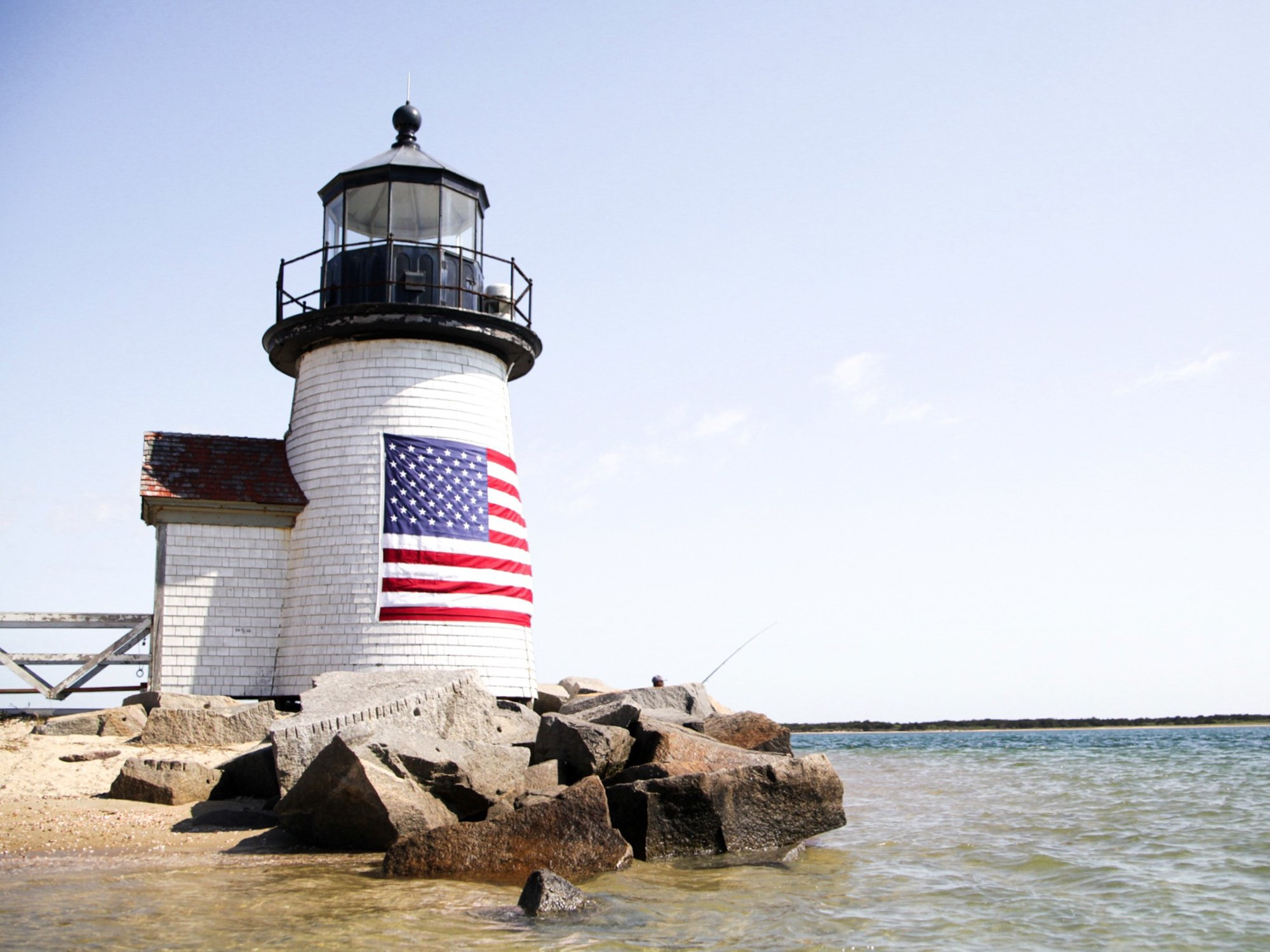 Brant Point Lighthouse in Nantucket MA