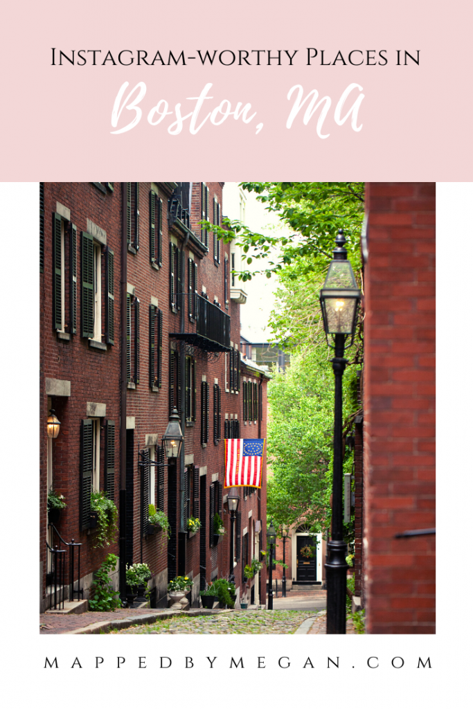 Looking for the most Instagrammable places in Boston? Check out my guide to the most photo-worthy spots in my hometown.
