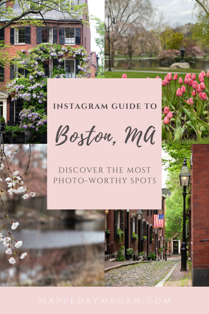 Check out my local photographer's guide to the most Instagram-worthy places to visit in Boston.