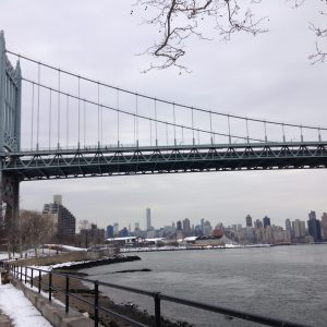 Triborough Bridge in Astoria Park, Queens